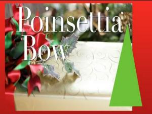 Poinsettia Bow How To Make Quick Amp Easy Bows With Ribbon