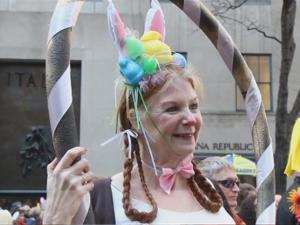 New York Citys Easter Parade And Bonnet Festival