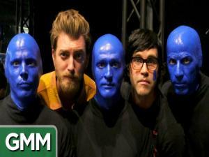 Rhett Link Join Blue Man Group