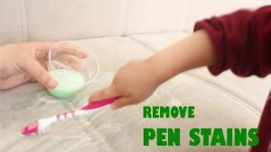 Remove Pen Stains