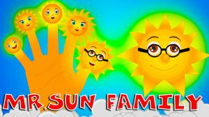 Mr Sun Finger Family