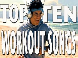 Top Ten Workout Songs 2 Guys 2 Weights