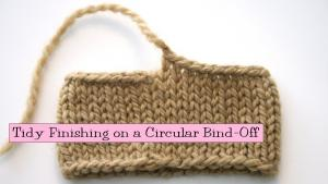 Circular Bind Off