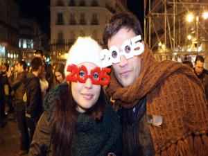717704 Thousands Welcome 2015 In Madrid