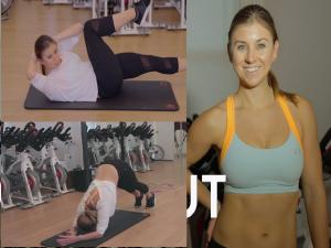 10 Min Ab Blitz Pyramid Workout Part 1