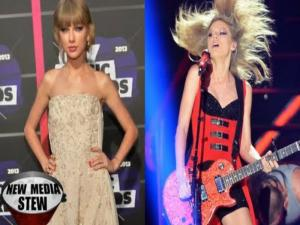 Taylor Swift Goes From Angelic To Sexy At Cmt Awards