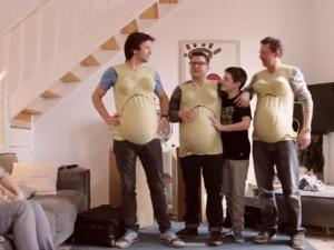 Ads Wear Empathy Bellies To Experience Pregnancy