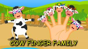 Cow Finger Family