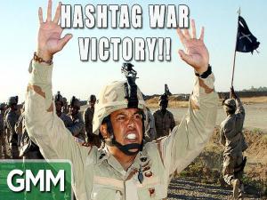 Hashtag War Victory