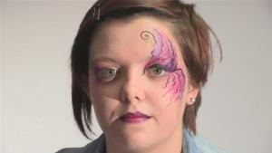 How To Do Fantasy Face Paint 10035018 By Videojug