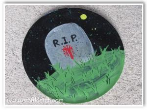 Gravestone Coaster