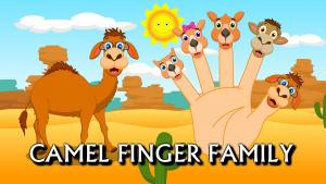 Finger Family Camel