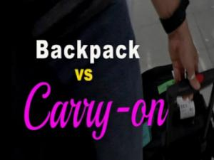 Backpack Vs Carry On