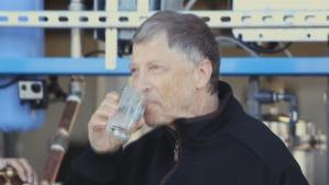 Bill Gates Drinks Water Made From Human Feces