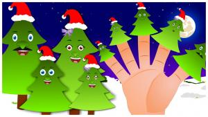 Christmas Tree Finger Family Nursery Rhyme