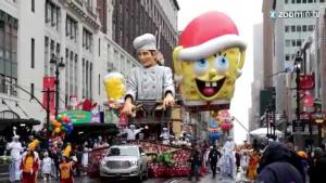 Balloons Protesters And Arrests At Macys Parade