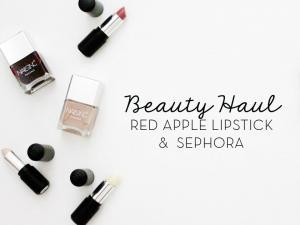 Beauty Haul