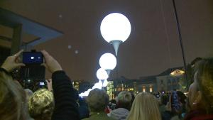 Berlin Marks Fall Of The Wall With 7000 Balloons