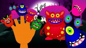 Monster Finger Family