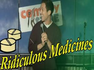Stand Up Comedy By David Foster Ridiculous Medicines