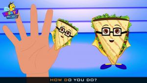 Sandwich Finger Family
