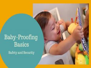 Baby Proofing Basics Safety