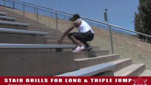 Willie Banks Stair Drills For The Triple And Long Jump 10034528 By Protips 4 U