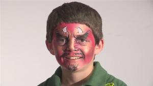 How To Do Devil Face Paint 10035035 By Videojug
