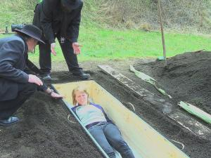 Face Your Fears Get Buried Alive