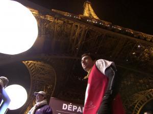 Eiffel Tower Hosts First Ever Vertical Race