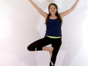 Yoga For Beginners Basic Balance Tree Pose
