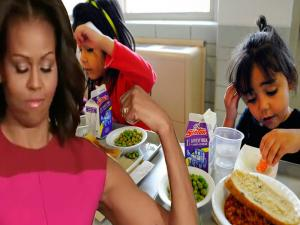 Michelle Obamas School Lunches Vs