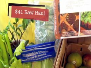 Raw Food Grocery Haul Day 0 Of The 75 Percent Raw Foods Challenge