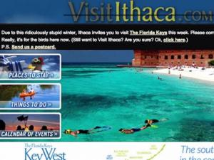 Ithaca Tourism Bureau Promotes Key West Instead