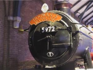 Harry Potters Hogwarts Express Arrives In London