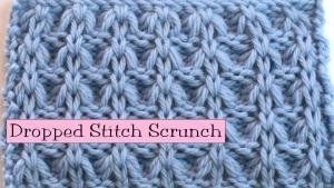 Dropped Stitch Scrunch
