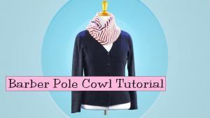 Barber Pole Cowl