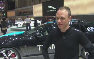 Chris Froome Joins Jaguar At Geneva Motor Show