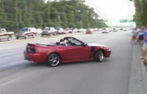 Ford Mustangs Fail At Drifting And Cause