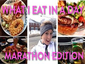 See What I Ate After 18 Miles Last Weekend