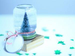 Mason Jar Snow Globe 10 Th Diy Of Christmas