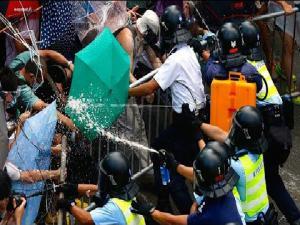 Hong Kong Protests Now Umbrella Revolution