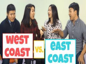 East Coast Asians Vs