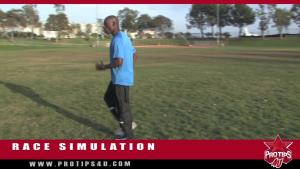 Track Field Tips Race Simulation With Khadavis Robinson 10034515 By Protips 4 U