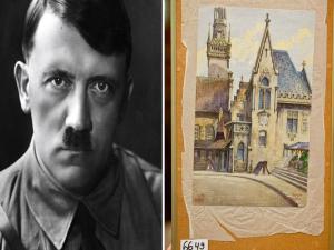 Hitler Painting Sells For 161000 Dollars