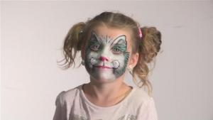 How To Do Face Paint For A Halloween Cat Suit 10035032 By Videojug