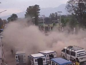 Video Shows Terrifying Moments Of Nepal Earthquake