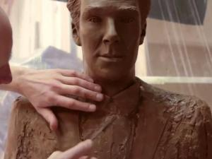 Life Size Chocolate Benedict Cumberbatch Is Every Womans Easter Wish
