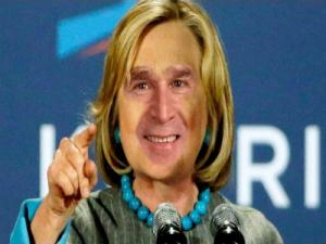 Thelip Bush Clinton Feud