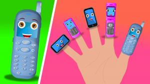 Cellphone Finger Family
